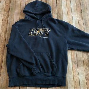 U.S Naval Academy pullover hooded sweatshirt